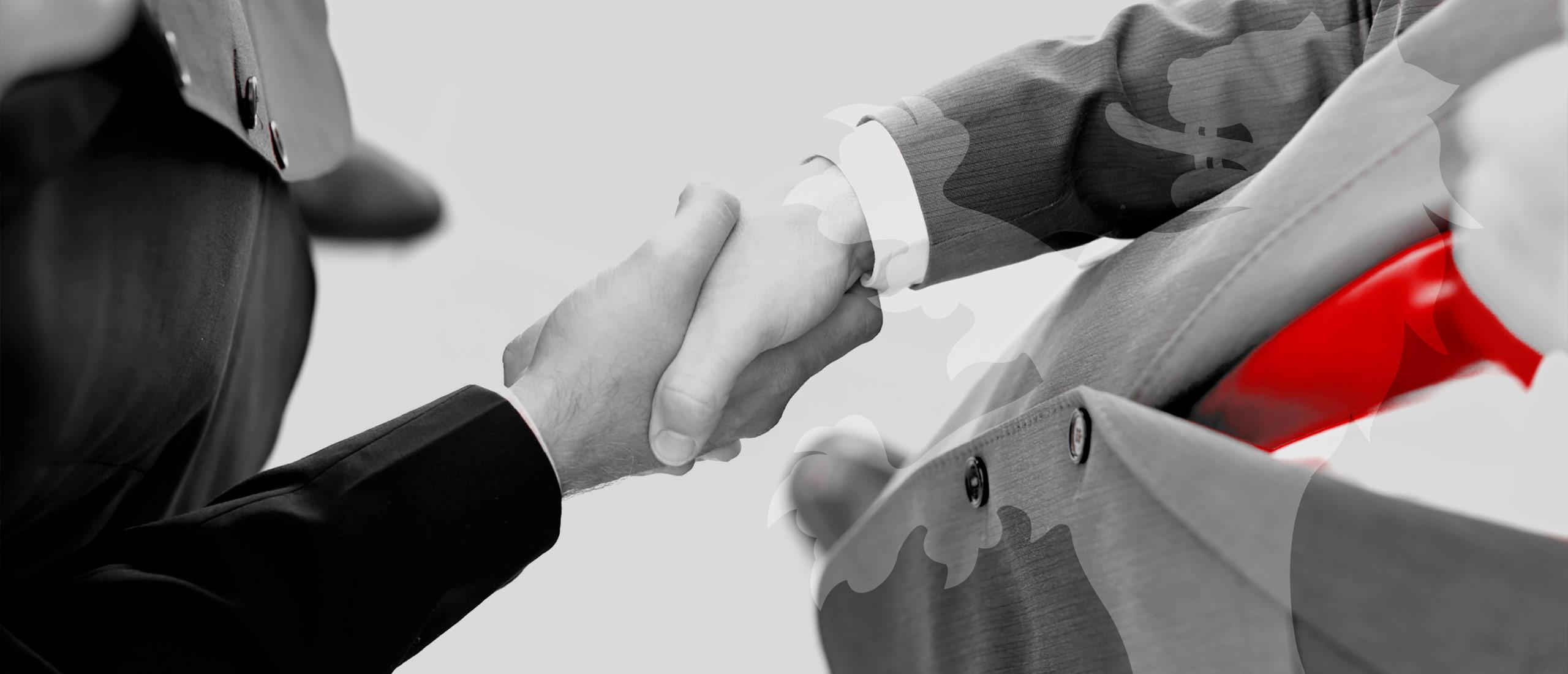 Handshake-Caem